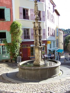 Fontaine du choriste - Puy en Velay