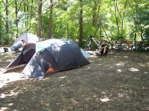 Notre tente coté 2