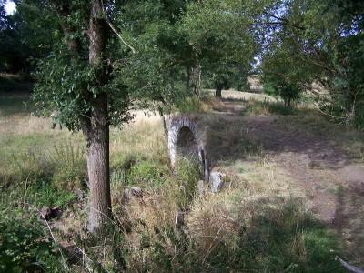 Petit pont avant Saint Christophe sur Dolaison