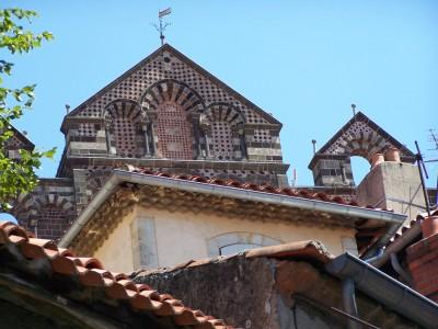 Haut de la cathédrale du Puy