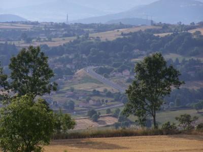 Sur les hauteurs du Puy en Velay