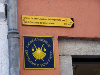 Panneau du GR 65