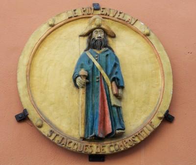 Sculpture Saint Jacques de Compostelle