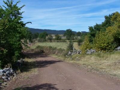 Beau chemin vers Ramourouscle