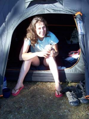 Camping Aumont Aubrac - Tente