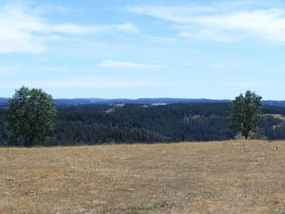 Sur les hauteur de Saint Alban - très beau paysage