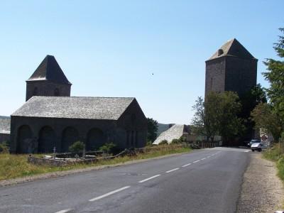 Entrée du village d'Aubrac